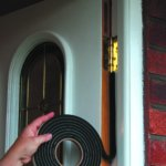 Extra Thick Rubber Foam Weatherstrip