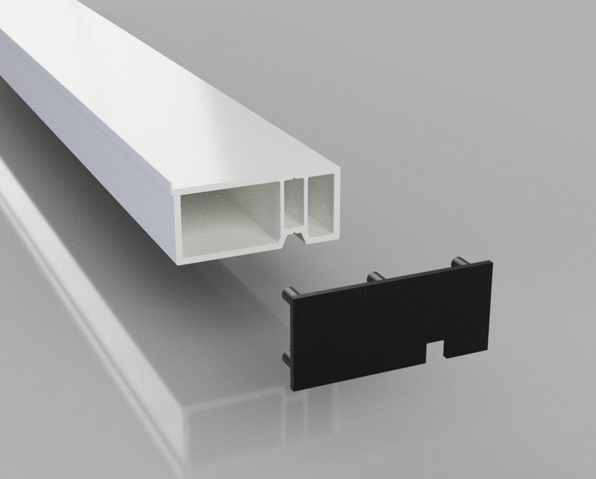 PVC Standard UPVC Door Infill