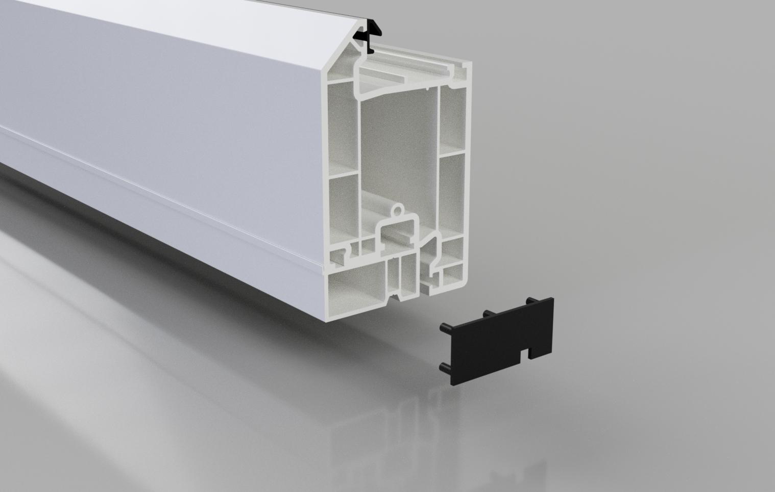 Pvc Standard Upvc Door Infill Stormguard