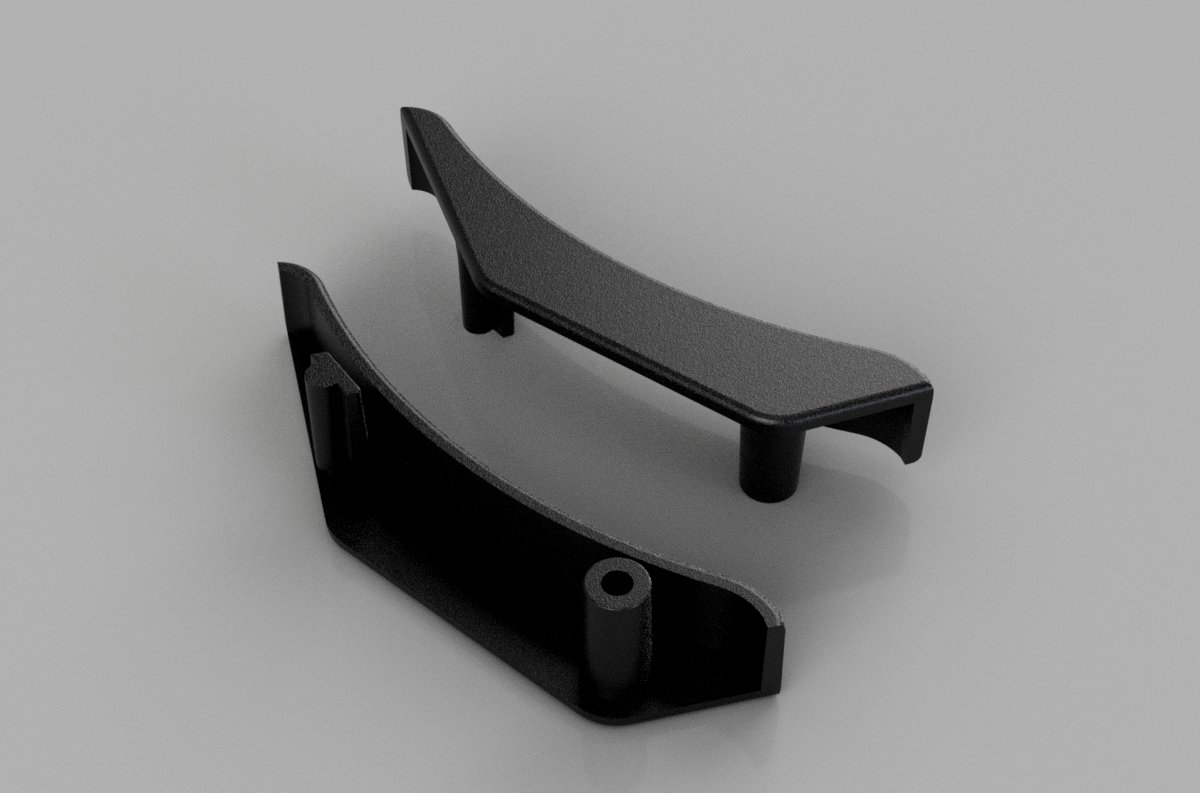 32mm and ICD Rain Deflector Edge Protectors