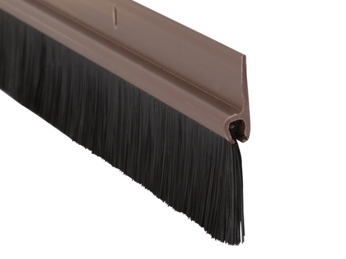 50mm Pvc Brush Bottom Door Seal Stormguard