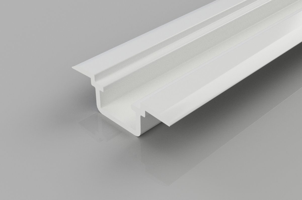 PVC Lock Side U Rail