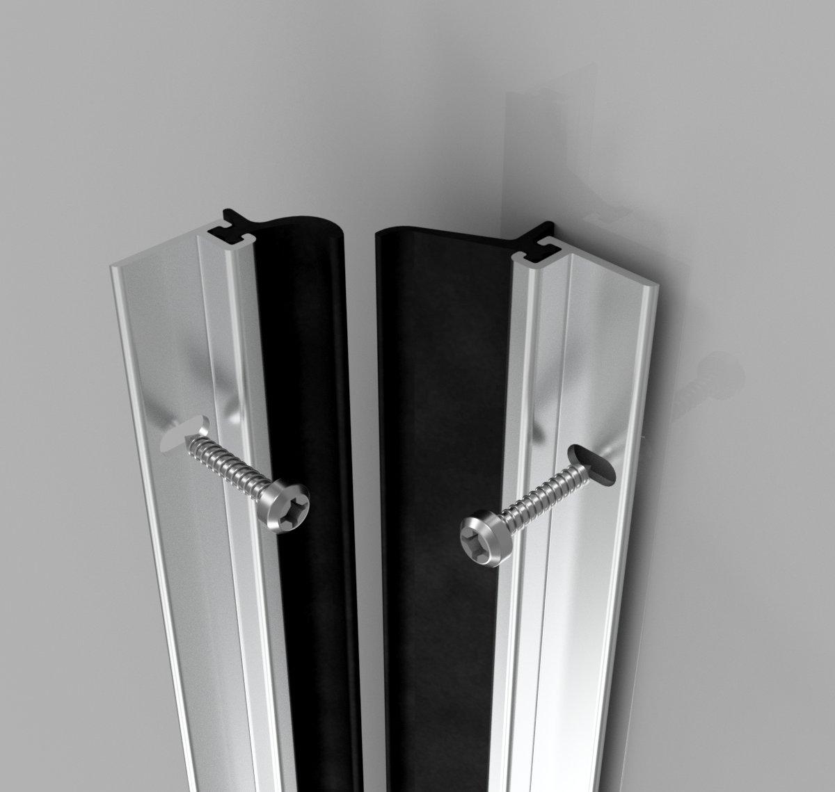 Heavy Duty Screw Fix Around Door Seal