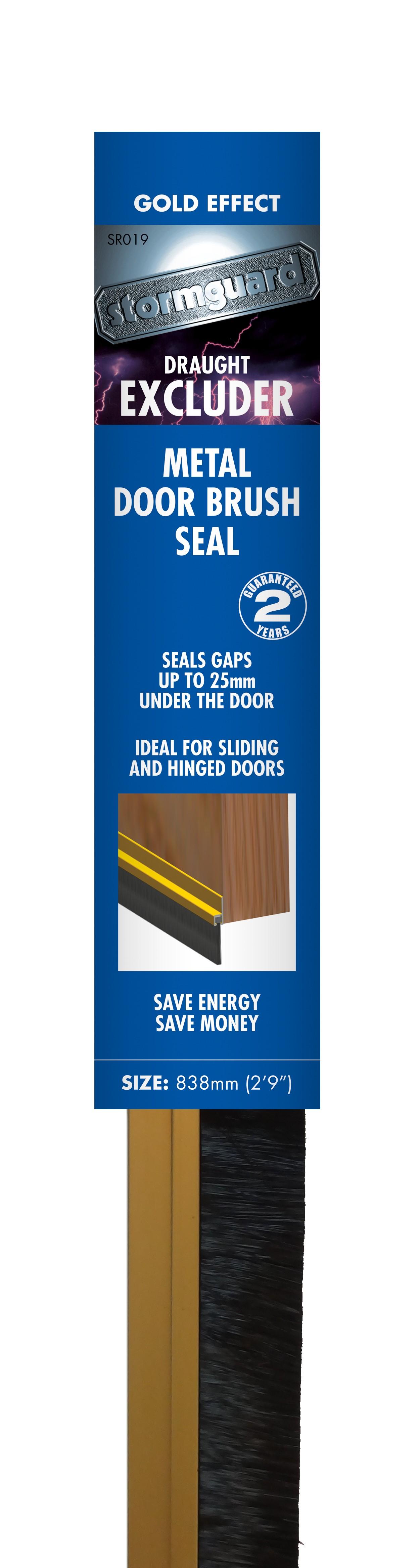 ... Aluminium Brush Bottom Door Seal  sc 1 st  Stormguard & Aluminium Brush Bottom Door Seal u2014 Stormguard pezcame.com