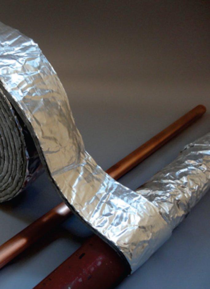 Foil Foam Pipe Tape Stormguard
