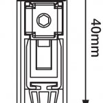 Applique Automatic Drop Down Seal