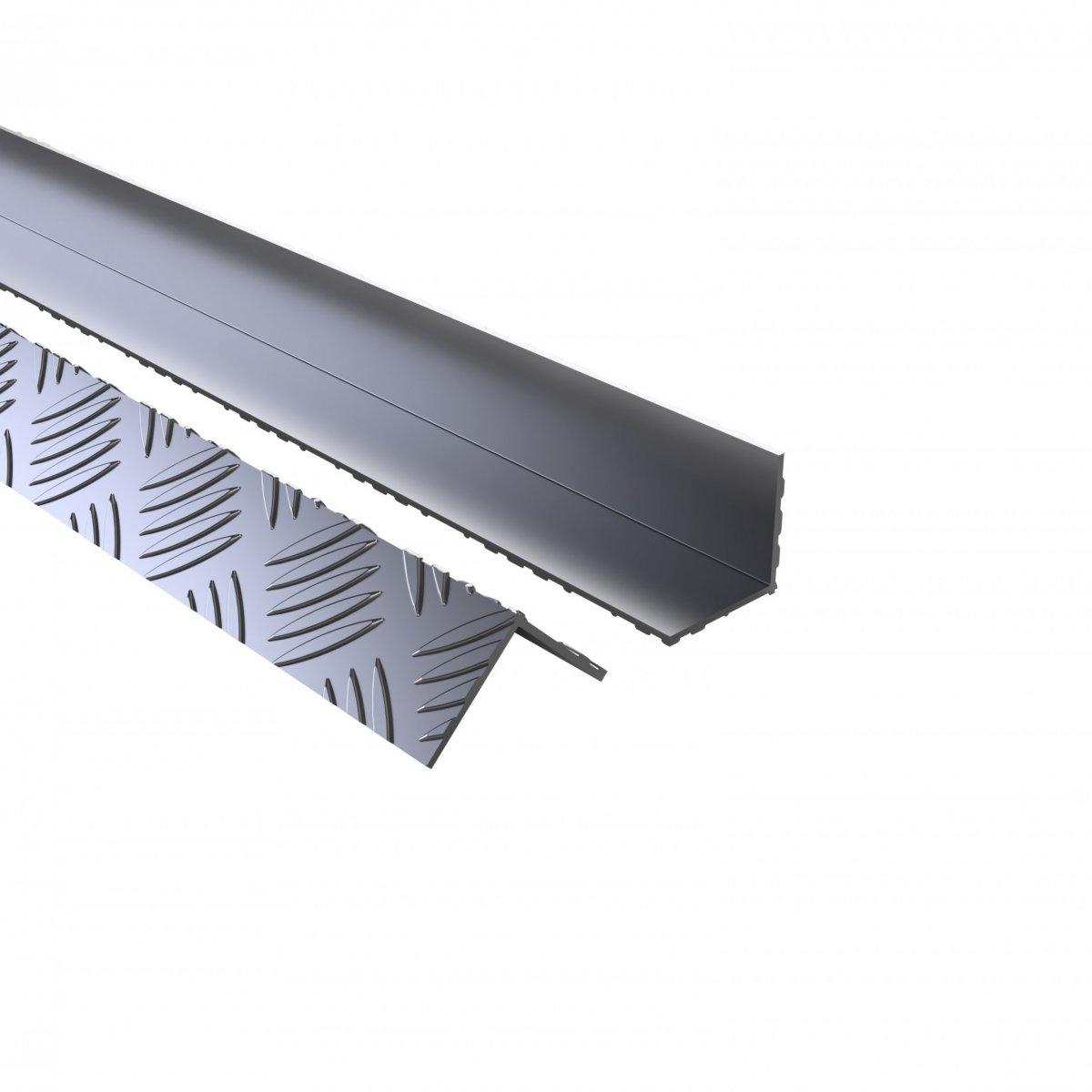 Aluminium External Checker 40mm Angle