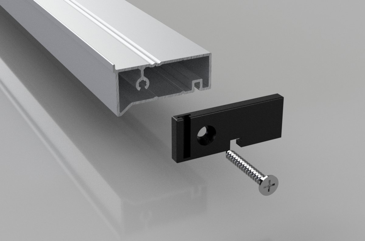 UPVC Door Infill Bar 45
