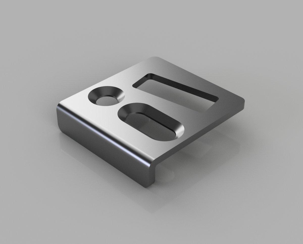 Proline AM3 Adjustable Locking Keep Reversed