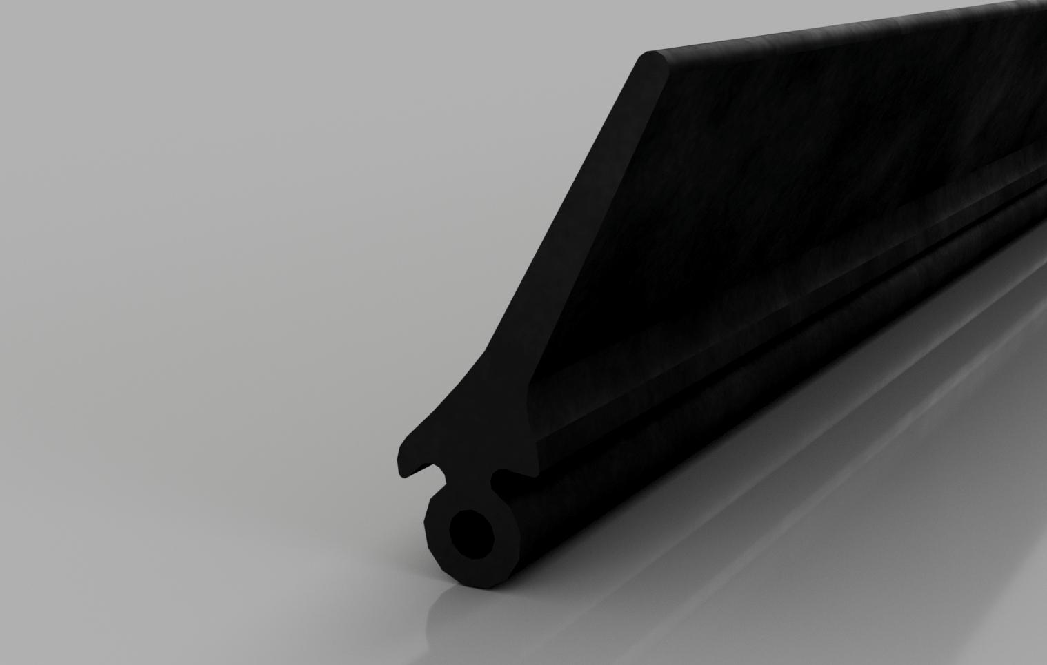 Industrial 25mm Rubber Door Seal — Stormguard