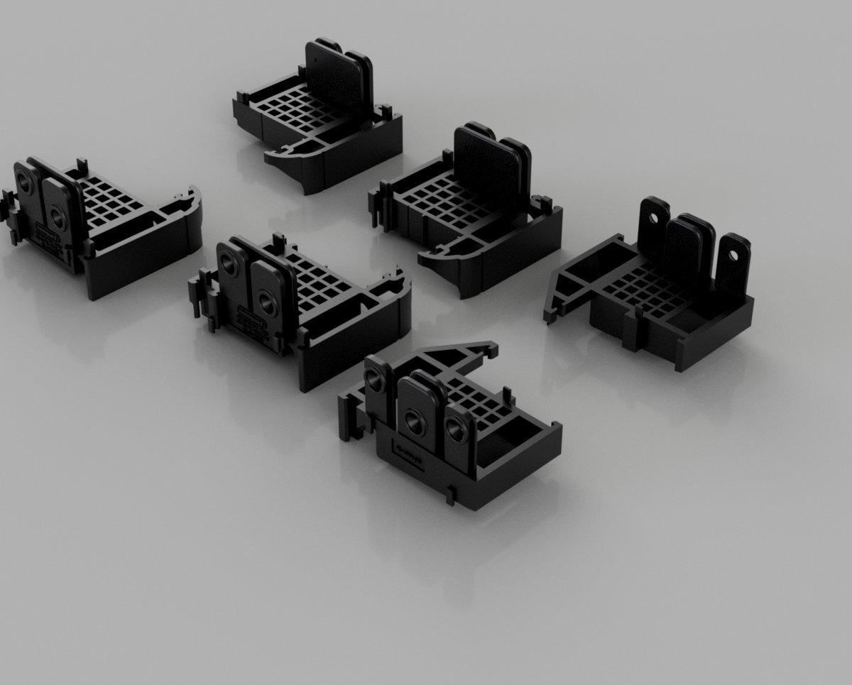Slimline Wide Frame Connectors